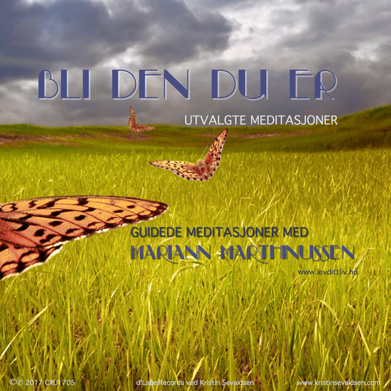 NYTT Meditasjons cover_Bli Den Du Er_SamlingMed
